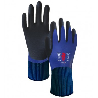 Blue Double Dipped Latex Gloves