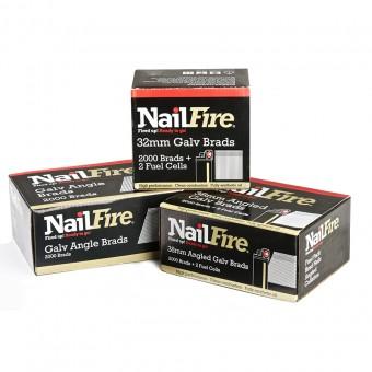 NailFire 2nd Fix Straight Brad Packs
